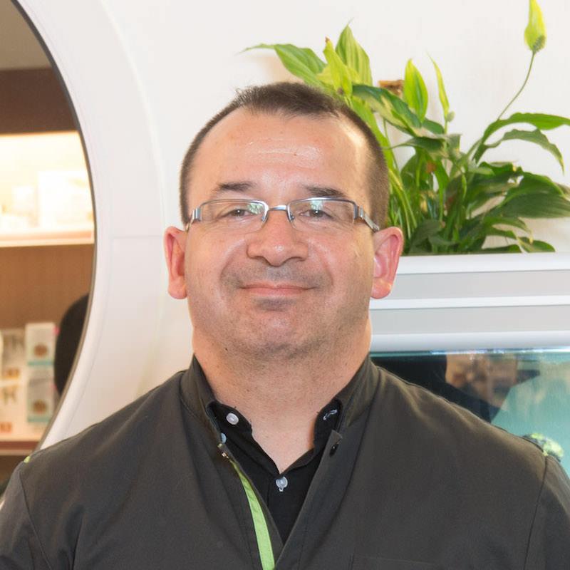 Docteur Jean-Robert AUDIGIER de la Clinique Vétérinaire de l'Arche à Nantes