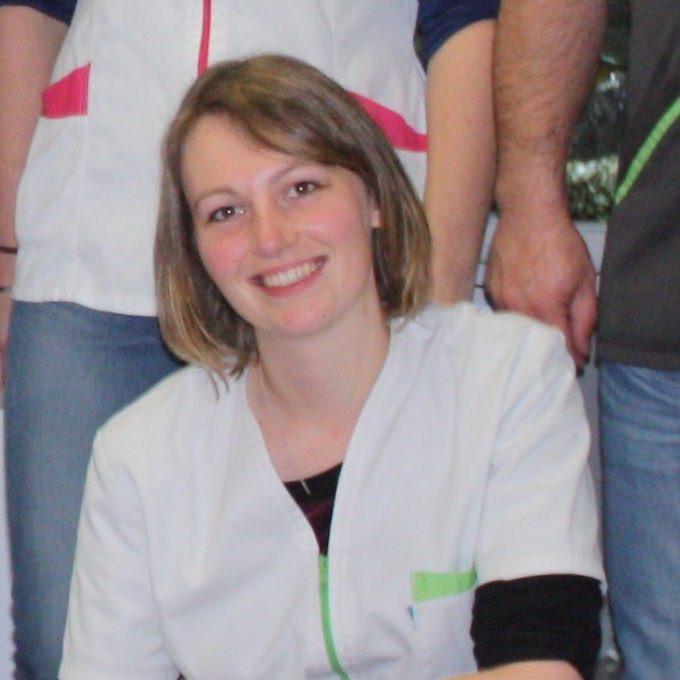 Kathleen de la Clinique Vétérinaire de l'Arche à St-Herblain